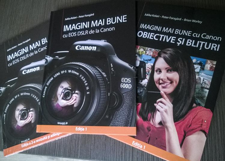Cărți de la Canon