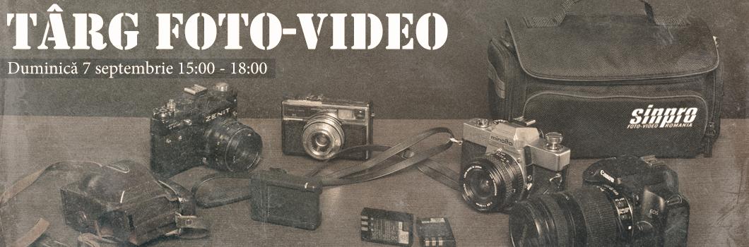 Targ de aparatura foto-video folosita !