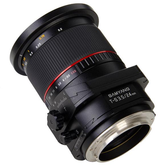 Review Samyang Tilt&Shift 24mm f/3.5