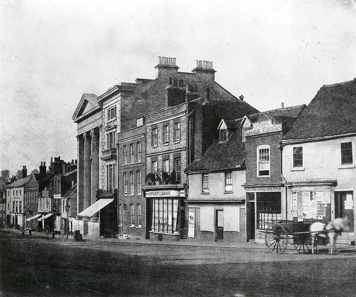 Strada Londra, Reading - Henry Fox Talbot, 1845