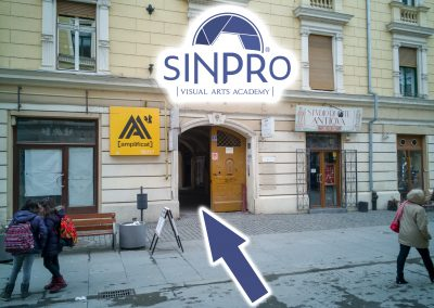 Locație SinPRO Visual Arts Academy în Timișoara