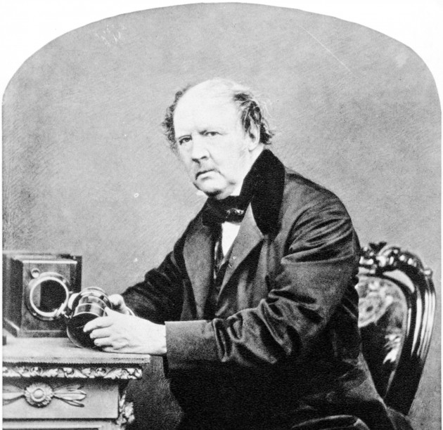 William Henry Fox Talbot, de John Moffat, 1864.
