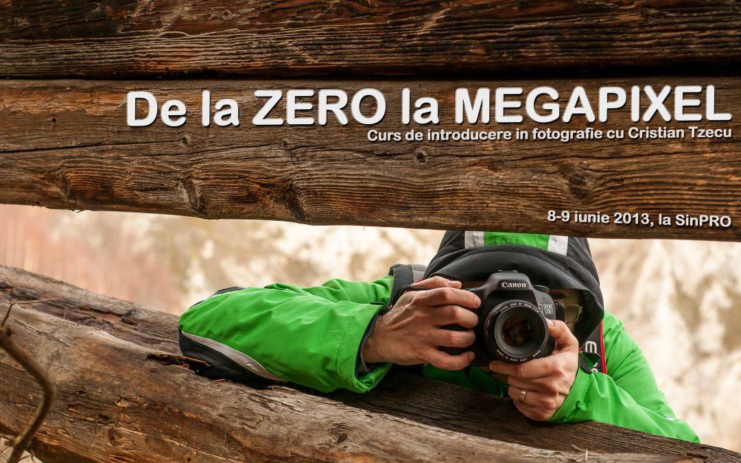 De la Zero la Megapixel – curs de introducere în fotografie cu Cristian Tzecu
